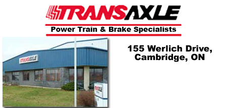 Transaxle Parts, Cambridge, Ontario